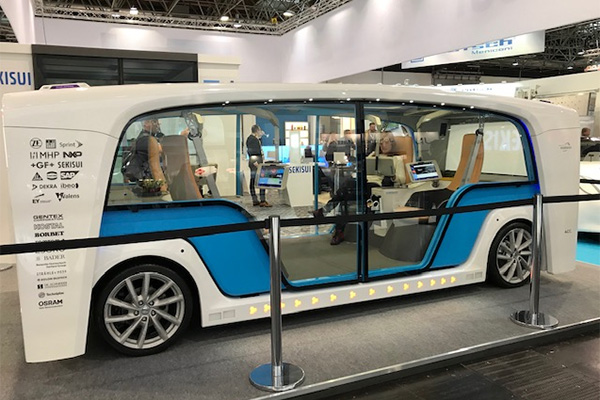 Germany's Glasstec convention showcases some very unique vehicles