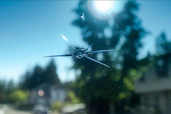 Who is liable for rock chip damage to your windshield?
