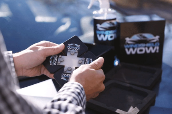 Crowdfunded windshield cleaner touted as the easiest and best way to remove dirt and streaks