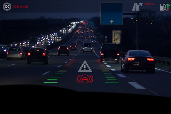 Holograms and augmented reality in windshields not that far away?